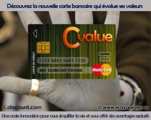 Cvalue Cdiscount carte bancaire réalisé par Stéphane Thirion publicité pour entreprise