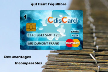 Carte cdiscarte Cdiscount