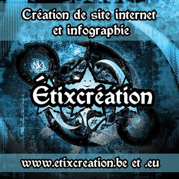 Étixcreation conception de site web et infographie province de Luxembourg
