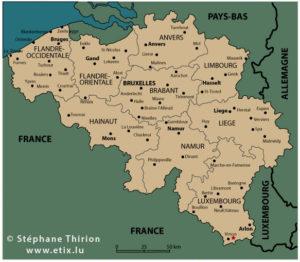 Carte-de-Belgique-vecteur-Stephane-Thirion