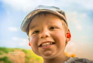 Séance photo enfant - Ného portrait et bouchon par Stéphane Thirion