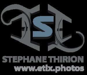 Logo etix photos, galerie Stéphane Thirion