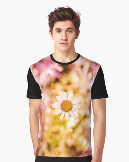 T-shirt homme marguerite