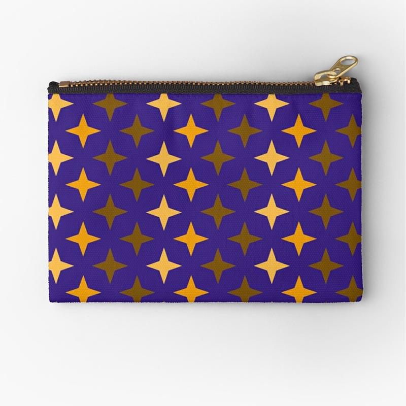 Vente objet motif étoile bleu orange
