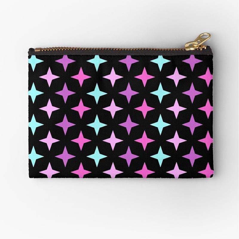Vente portefeuille motif étoile