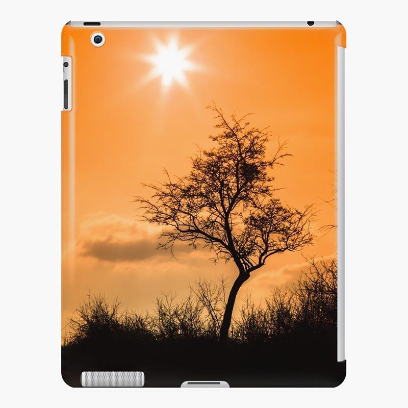 coque ipad silhouette arbre